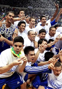 THE 2009 ADMU BLUE EAGLES
